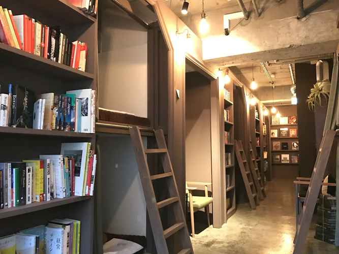 COMMON_SPACE Book Tea Bed GINZA - Hostel