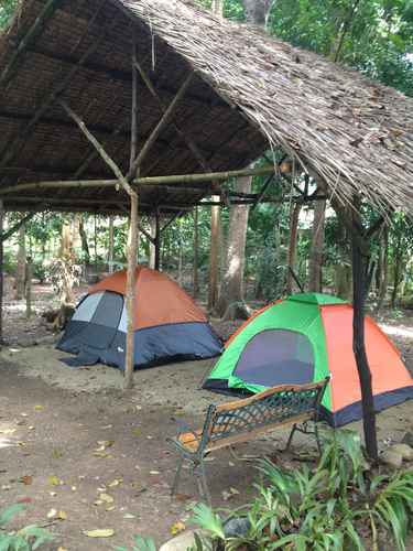 COMMON_SPACE Tent and Breakfast at Irawan Park