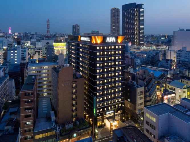 EXTERIOR_BUILDING โรงแรมเอพีเอ นัมบะ-เอกิฮิงาชิ