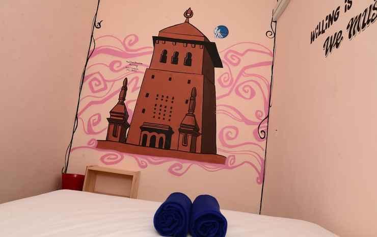 Double K Hostel Johor Bahru Johor - Kamar Double Ekonomi, 1 Tempat Tidur Queen