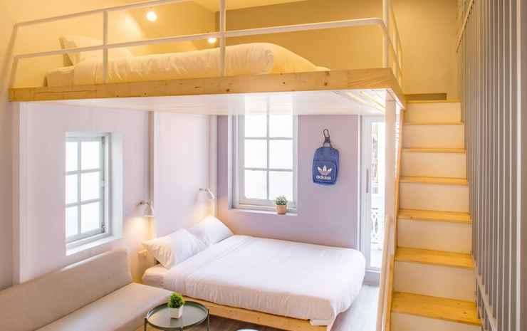 Nornyaowarat Hotel Bangkok - Suite Keluarga, kamar mandi pribadi, sudut