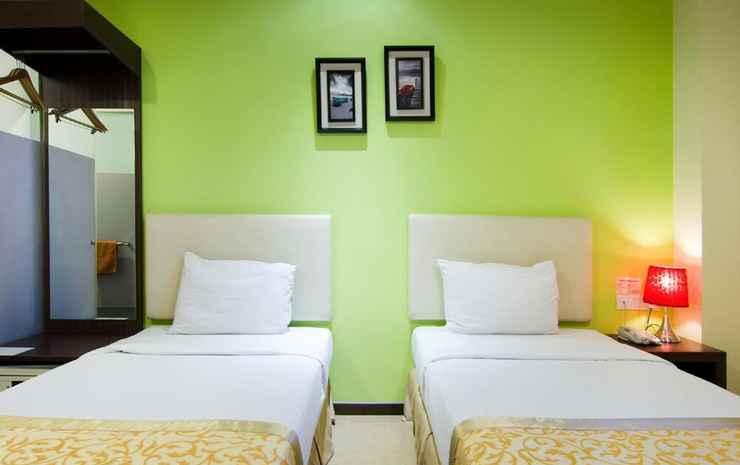 Eight Days Boutique Hotel @ ImpianEmas Skudai Johor - Kamar Twin Deluks