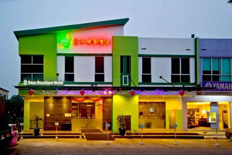 EXTERIOR_BUILDING Eight Days Boutique Hotel @ ImpianEmas Skudai