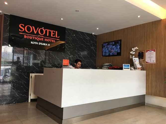 LOBBY Sovotel Boutique Hotel Kota D'sara 8