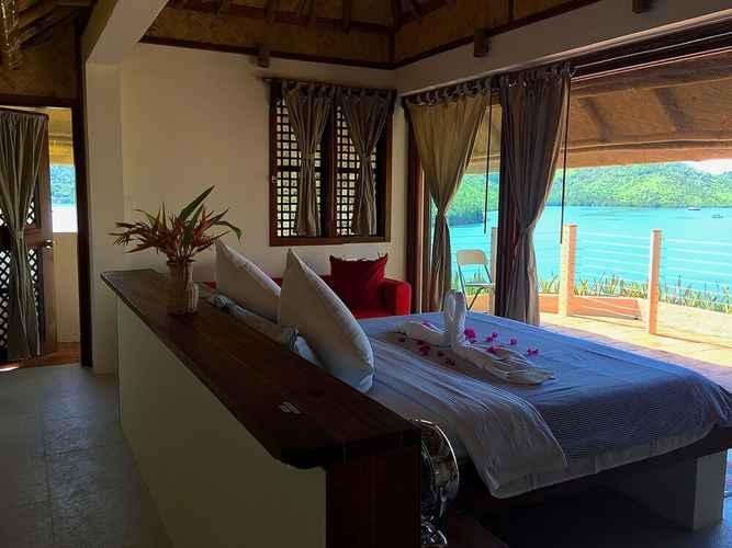BEDROOM Ekhaya Private Villas & Suites Palawan