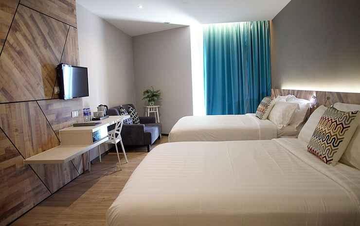 G5 Hotel and Services Apartment Johor - Kamar Quadruple Keluarga
