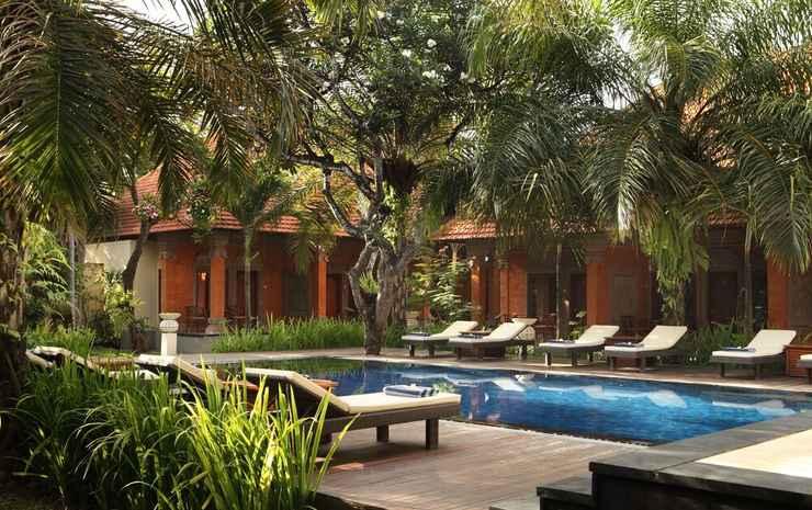 Griya Santrian Bali - Kamar Standar, area taman