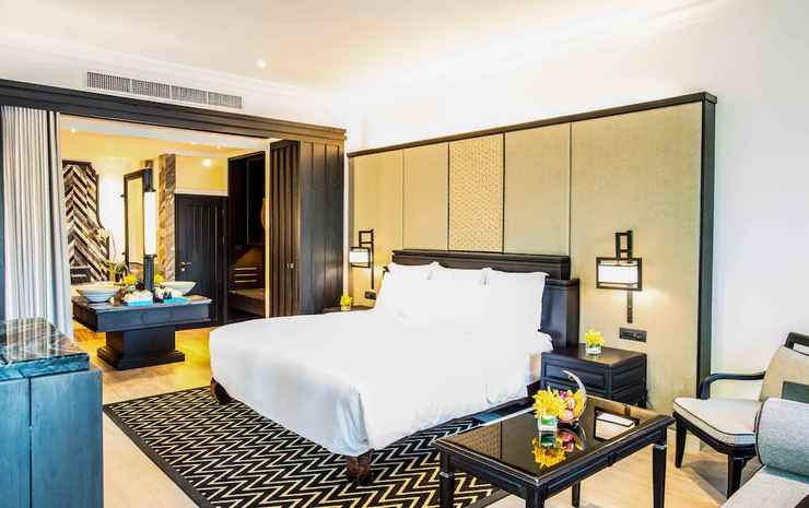 InterContinental Pattaya Resort Chonburi - Suite Klub, 1 Tempat Tidur King, teras, pemandangan samudra (Panoramic)