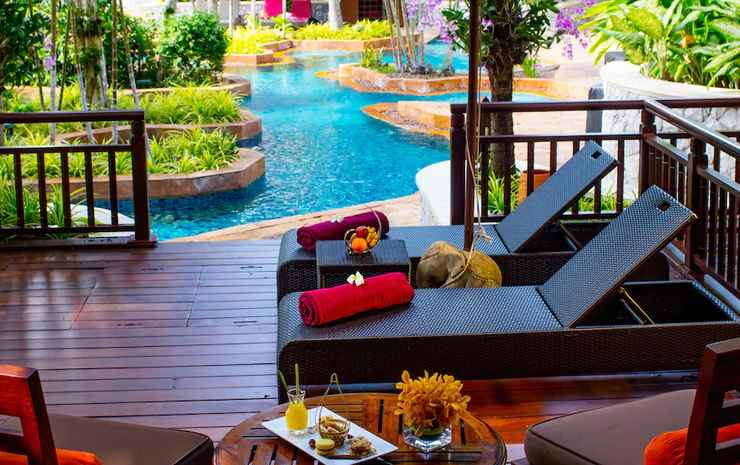 InterContinental Pattaya Resort Chonburi - Kamar, 2 Tempat Tidur Queen, teras (Pool Terrace)