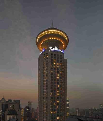 EXTERIOR_BUILDING โรงแรมเรดิสัน บลู เซี่ยงไฮ้ นิว เวิลด์