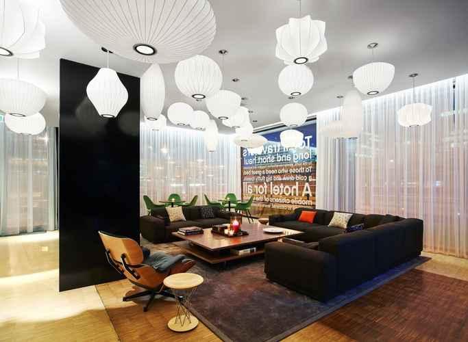 LOBBY โรงแรมซิติเซนเอ็ม ชิปโฮล แอร์พอร์ต