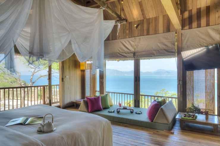 BEDROOM Six Senses Ninh Van Bay
