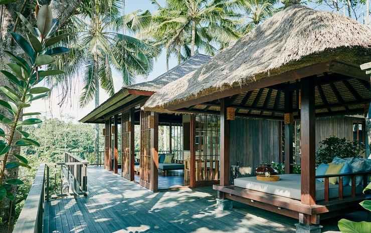 HOSHINOYA Bali Bali - Vila Panorama, akses ke kolam renang, sudut