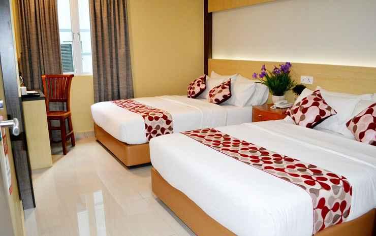 City Central Hotel @ KL Sentral Kuala Lumpur - Kamar Double Keluarga