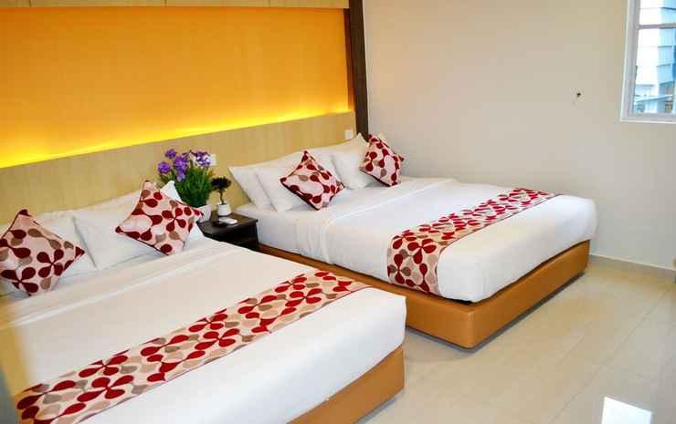 City Central Hotel @ KL Sentral Kuala Lumpur - Kamar Quadruple Deluks