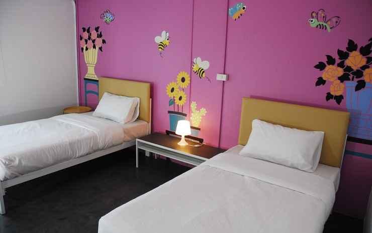 The Art Hostel Bangkok Bangkok - Kamar Double atau Twin, 1 Tempat Tidur Double atau 2 Tempat Tidur Twin