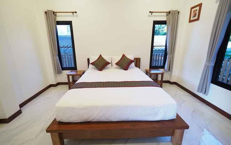 Chanapha Residence Krabi - Kamar Keluarga, 2 kamar tidur, balkon, pemandangan kebun