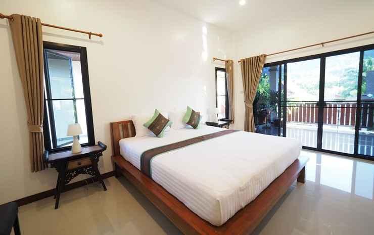 Chanapha Residence Krabi - Kamar Standar, balkon, pemandangan kebun