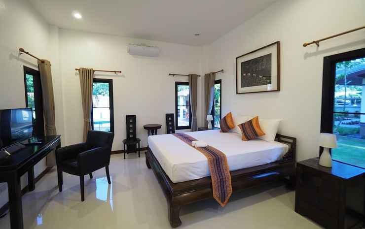Chanapha Residence Krabi - Kamar Superior, 1 kamar tidur, patio, pemandangan kebun