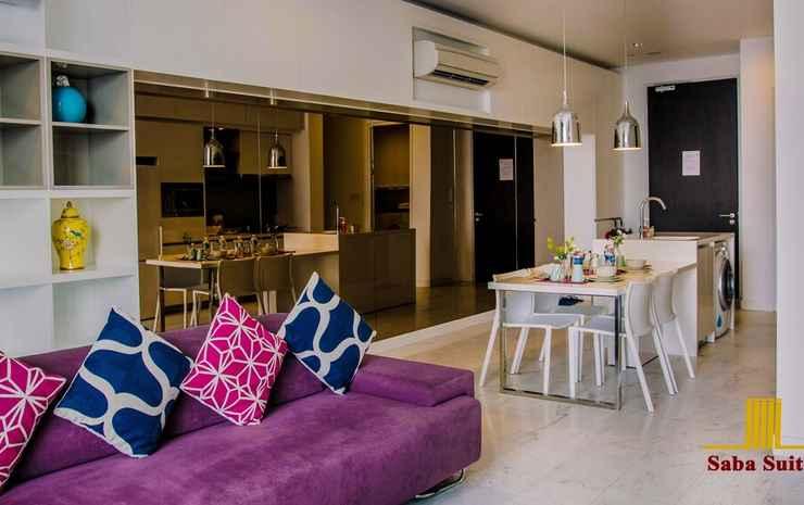 Saba Suites at Platinum KLCC Bukit Bintang Kuala Lumpur Kuala Lumpur - Suite Keluarga, 2 kamar tidur (Economy)