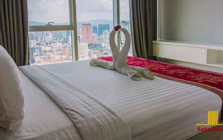 Saba Suites at Platinum KLCC Bukit Bintang Kuala Lumpur Kuala Lumpur - Apartemen Junior, 2 kamar tidur, bathtub, pemandangan kota