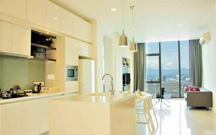 Saba Suites at Platinum KLCC Bukit Bintang Kuala Lumpur Kuala Lumpur - Apartemen Grand, 2 kamar tidur (Executive)