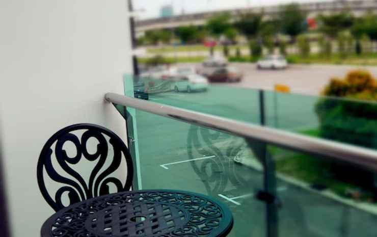 Hotel Legend Boutique Johor - Kamar Deluks, balkon