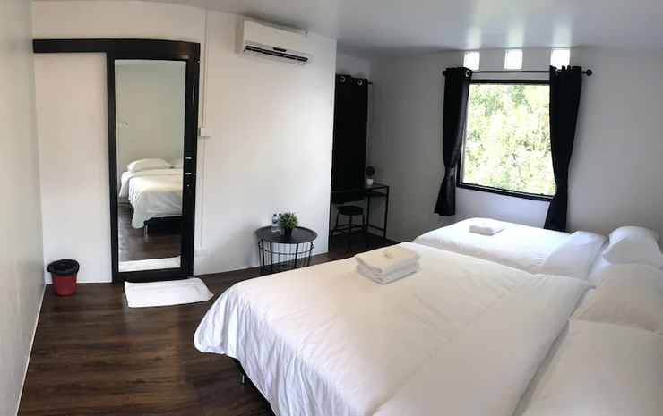 White Lodge Bangkok - Kamar Triple Superior, Beberapa Tempat Tidur, non-smoking, pemandangan kota