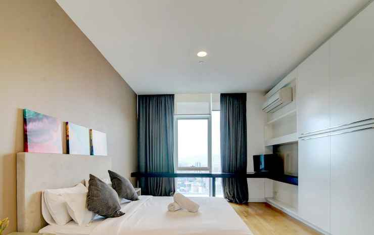 Platinum Suites KLCC - Vale Pine Luxury Homes Kuala Lumpur - Suite Premium, 2 kamar tidur, bathtub