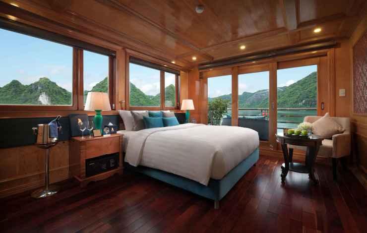 BEDROOM Du thuyền Maya Hạ Long