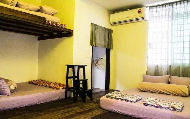 YESIDoChapel @ Bukit Indah, R.O.M Church Johor - Kabin Royal, Beberapa Tempat Tidur, kamar mandi pribadi, pemandangan kebun