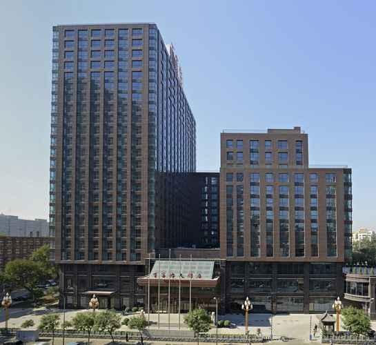 EXTERIOR_BUILDING Beijing Baifuyi Apartment Dongzhimen