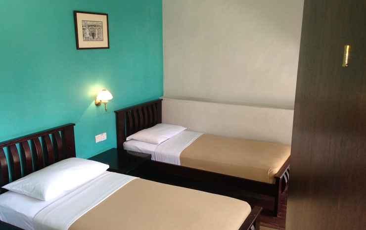 Old Penang Guesthouse - Hostel Penang - Kamar Twin, kamar mandi umum