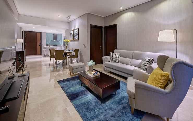 ARIVA Trillion Residences Kuala Lumpur - Apartemen Deluks, 1 kamar tidur, dapur, pemandangan kota