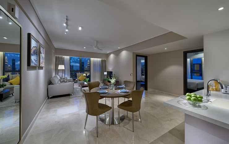 ARIVA Trillion Residences Kuala Lumpur - Apartemen Deluks, 2 kamar tidur, dapur, pemandangan kota