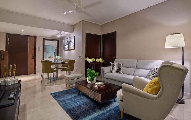 ARIVA Trillion Residences Kuala Lumpur - Apartemen Premier, 1 kamar tidur, dapur, pemandangan kota