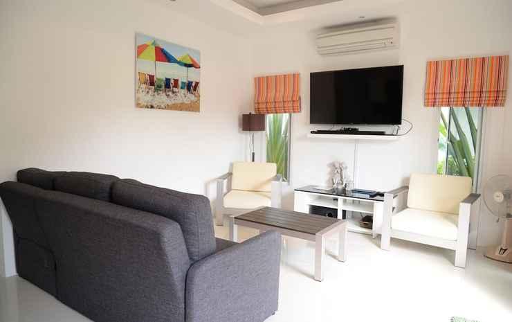 Bangsaray Villa Chonburi - Vila, 2 kamar tidur, pemandangan kolam renang, di pinggir kolam renang