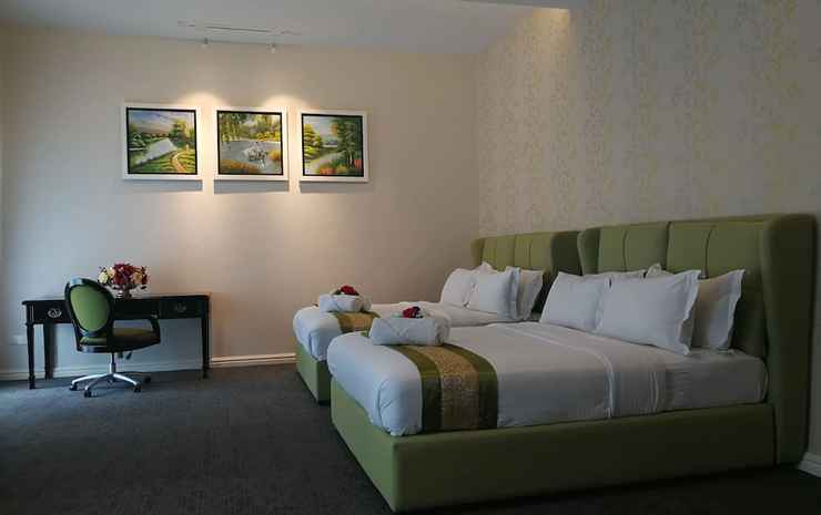 Casa Bianca Johor - Kamar Keluarga, 2 Tempat Tidur Queen, balkon, pemandangan kebun