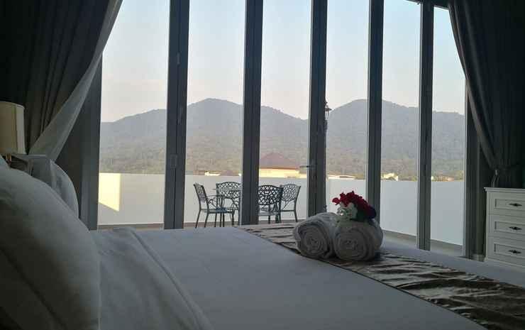 Casa Bianca Johor - Kamar Eksklusif, 1 Tempat Tidur King, balkon, pemandangan gunung