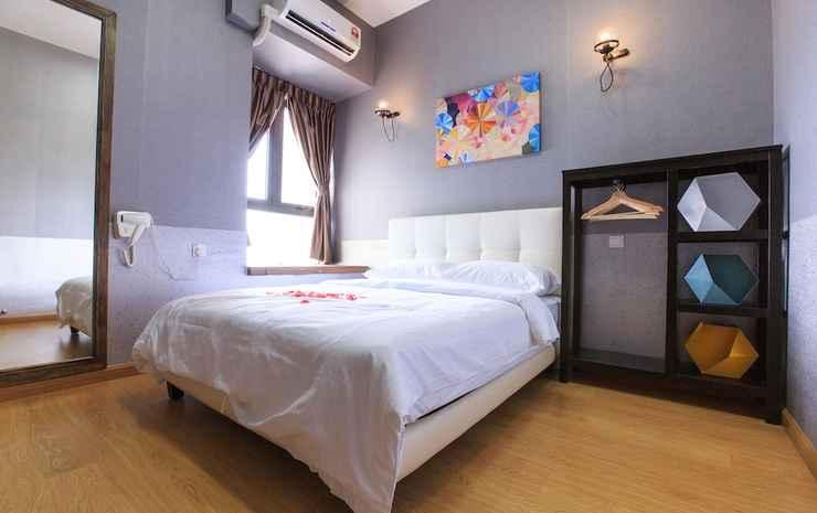 Mdm Woon's at Country Garden Danga Bay Johor - Comfort Condo Balcony, 2 Rooms, City View