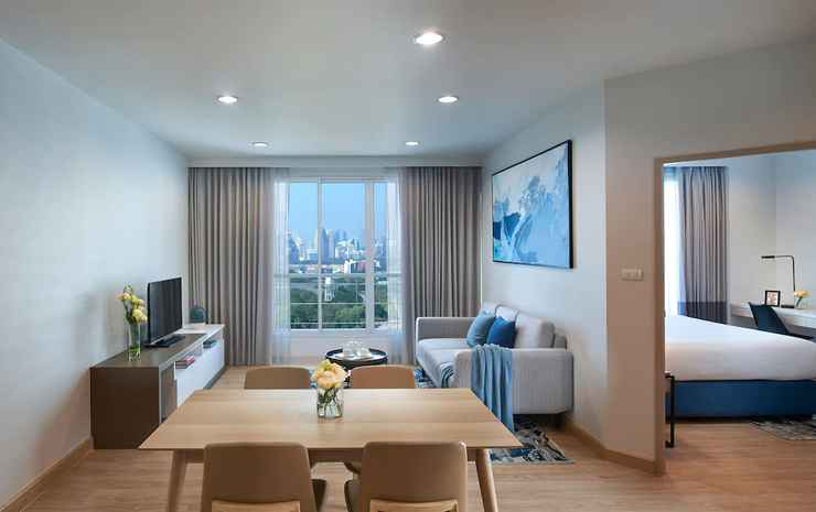 Shama Lakeview Asoke Bangkok Bangkok - Apartemen, 2 kamar tidur, pemandangan danau