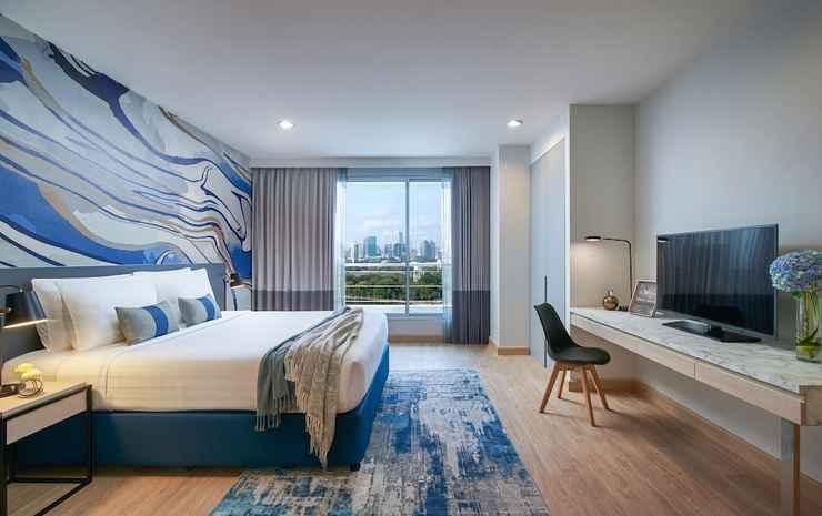 Shama Lakeview Asoke Bangkok Bangkok - Apartemen, 3 kamar tidur, pemandangan danau