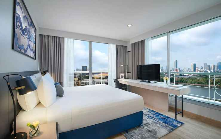 Shama Lakeview Asoke Bangkok Bangkok - Apartemen, 1 kamar tidur, pemandangan danau