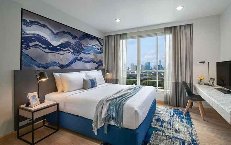 Shama Lakeview Asoke Bangkok Bangkok - Apartemen Deluks, 2 kamar tidur