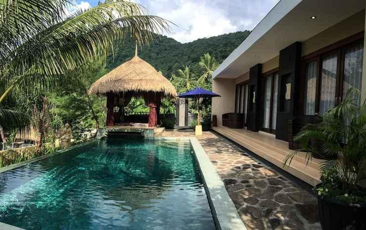 Nipah Pool Villas and Restaurant Lombok - Vila Eksekutif, 2 kamar tidur, pemandangan kolam renang, di pinggir kolam renang