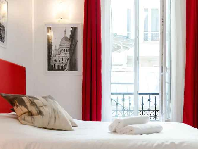 BEDROOM Montmartre Apartments - Toulouse