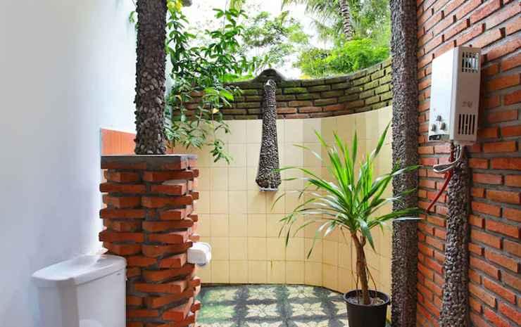 Great Mountain Views Bali - Kamar Triple Superior, pemandangan resor, area taman