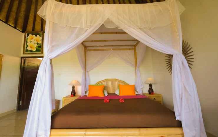 Great Mountain Views Bali - Kamar Deluks, 1 Tempat Tidur King, pemandangan gunung, area taman