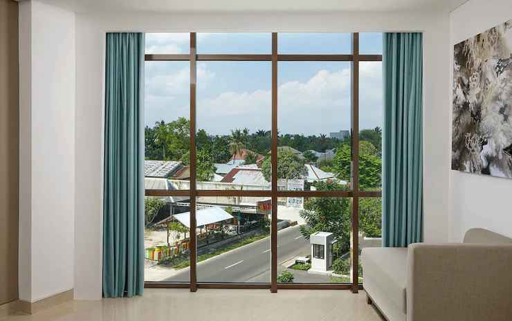 Fairfield By Marriott Belitung Belitung - Suite Junior, 1 Tempat Tidur King, pemandangan kota
