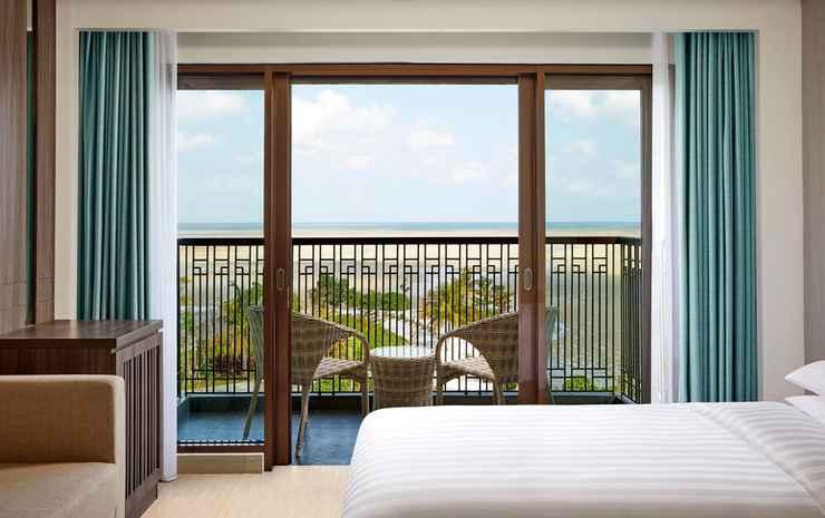 Fairfield By Marriott Belitung Belitung - Kamar Deluks, 1 Tempat Tidur King, teras, pemandangan kolam renang